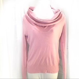 🆕 TCEC Pink Lightweight Cowl Neck Sweater